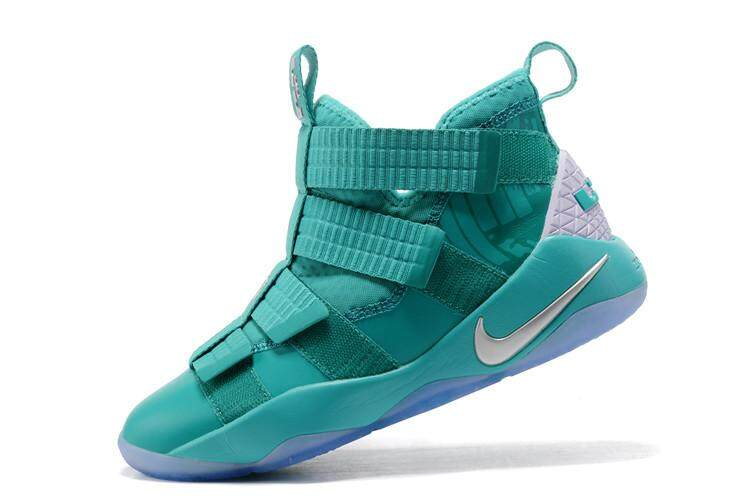 58fe9f0270a Light Green White LeBron Soldier XI