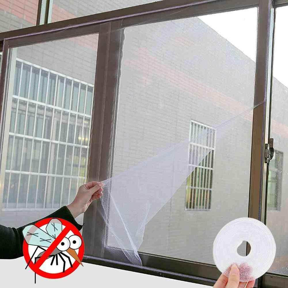 Dueplay White color Window Screen Mesh Net Insect Fly Bug Mosquito Moth Door Netting