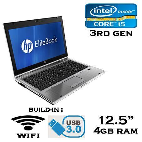HP Elitebook 2570P i5 3RD GEN 3230M / 3320M 3.2GHZ USB 3.0 320GB HDD 4GB RAM WEBCAM WIFI LAPTOP NETBOOK NOTEBOOK Malaysia