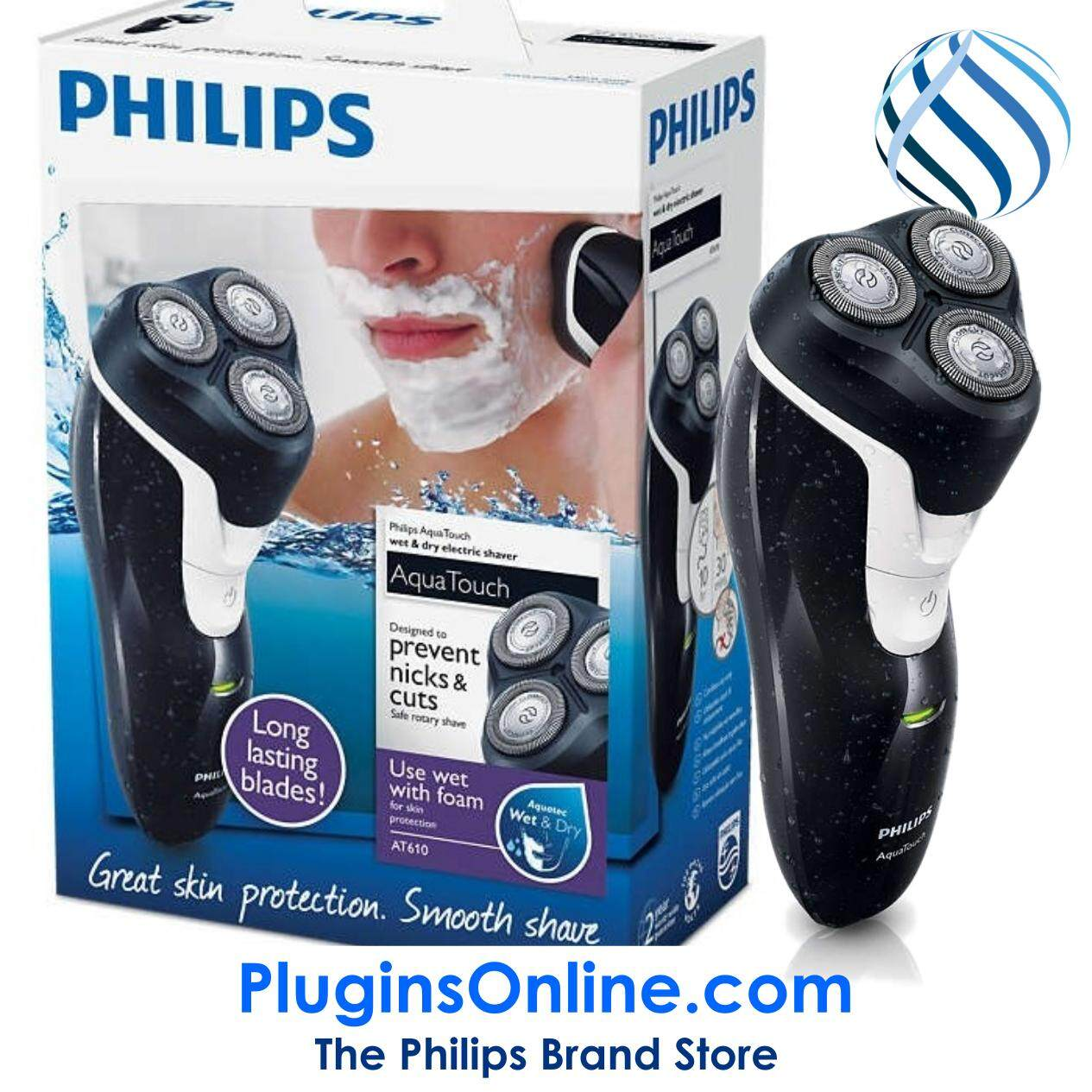 Philips Shaving Grooming Price In Malaysia Best Electric Shaver Pq206 At610 14 Aquatouch 100 Waterproof Wet Dry