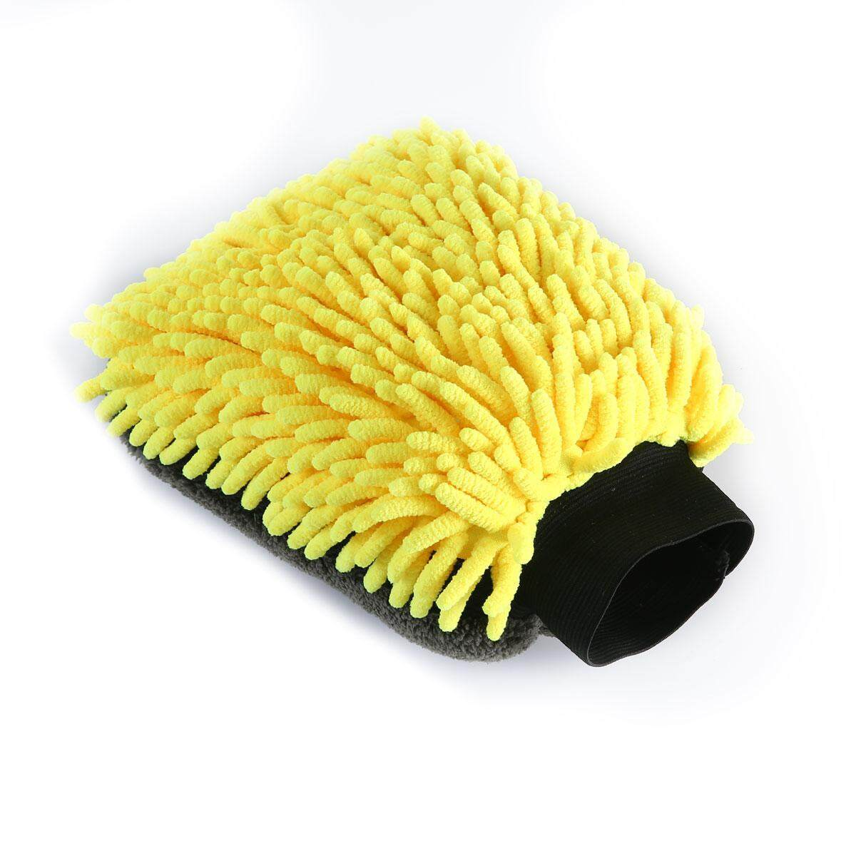 DS-Mart Microfiber Car Wash Gloves Car Wash Mitt Large Double-Sided Thickening Microfiber Chenille Car Wash Gloves, Ultra-soft Scratch Free Car Cleaning Mitts