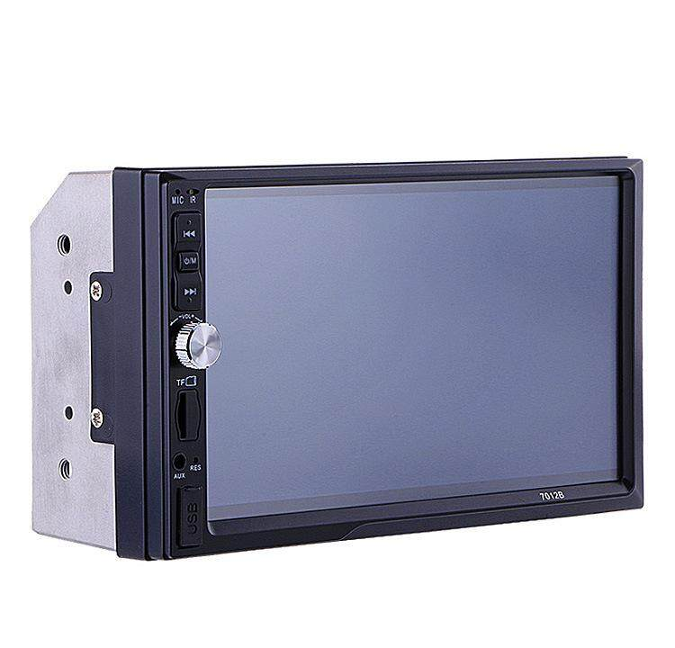 7012b 7 Inch Bluetooth V2.0 Car Audio Stereo Touch Screen Mp5 Player Support Mmc By Tobbehere.