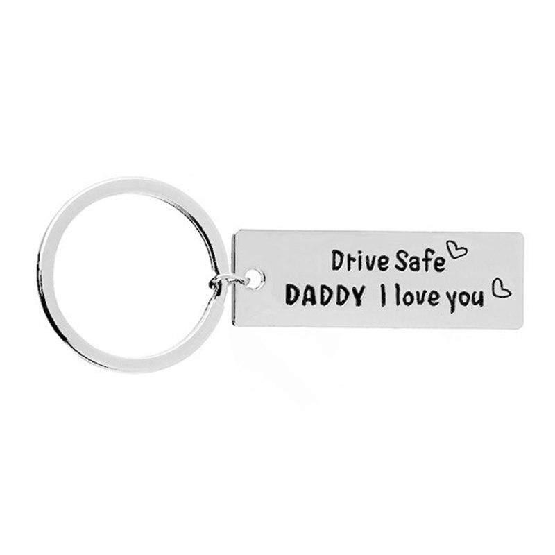 564dc2e3b Fancyqube Creative Keychain Men Key Ring Letter