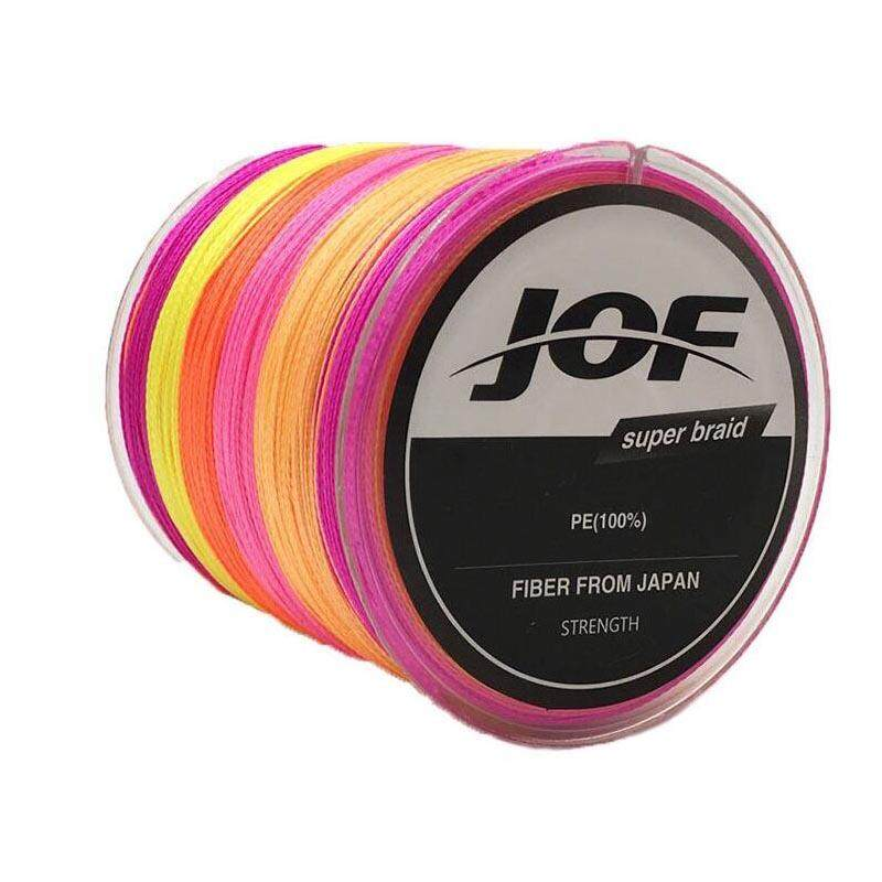 500 Meters 8-150 Lb Colorful Fishing Line 4 Strands Pe Braided Multifilament Fishing Line Rope Carpe Wire - Red - 12.0 By Mile International Store.