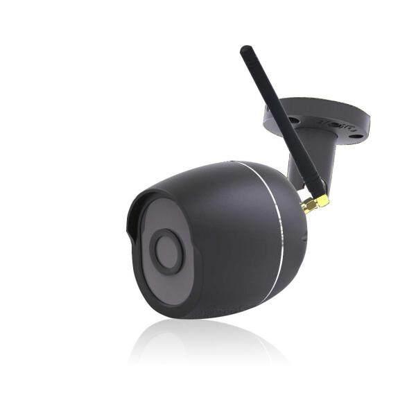 Digoo DG-W01f Penyimpanan Awan 3.6Mm Kanta 720P Kalis Air Wifi Kamera Ip Keselamatan Ir 25M Gerakan Jarak pengesanan Penggera Sokongan Perkhidmatan Web Amazon Onvif Monitor-Hitam (Hitam)