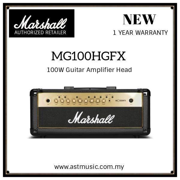 Marshall MG100HGFX MG Series 100 Watt Guitar Amplifier Head Malaysia