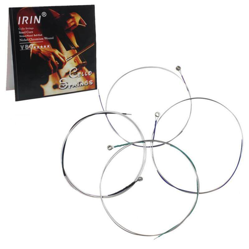 4pcs/lot Cello Strings A-D-G&C Steel Core Nickel Chromium Wound Exquisite Stringed Malaysia