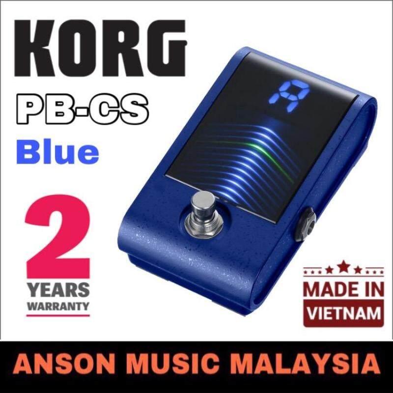 Korg PB-CS Pitchblack Custom Pedal Tuner, Blue Malaysia