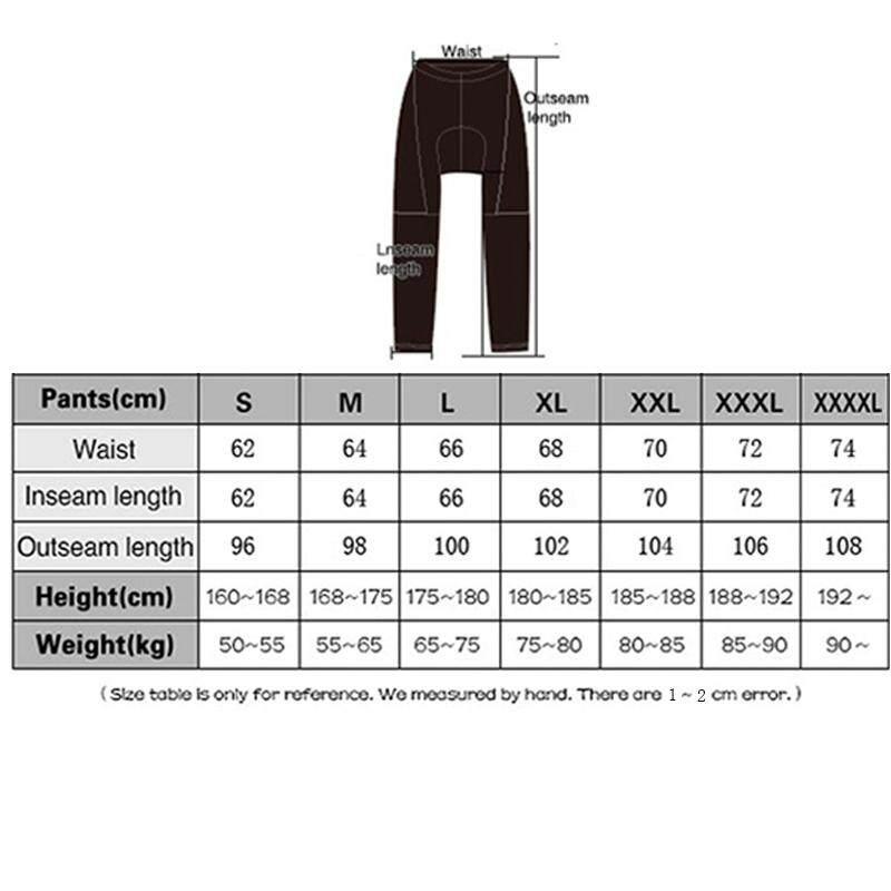 Men S Clothing New Mens Cycling Waist Full Length Padded Cycle Leggings Size S M L Xl Xxl Xxxl Entrepreneurship Bt