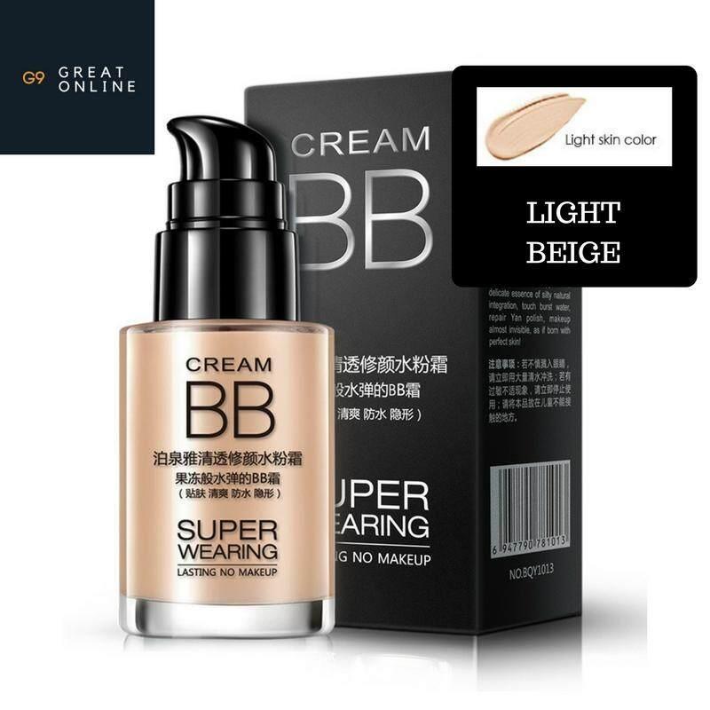 G9 Bioaqua Super Wearing Water Flawless Bb Cream By G9.
