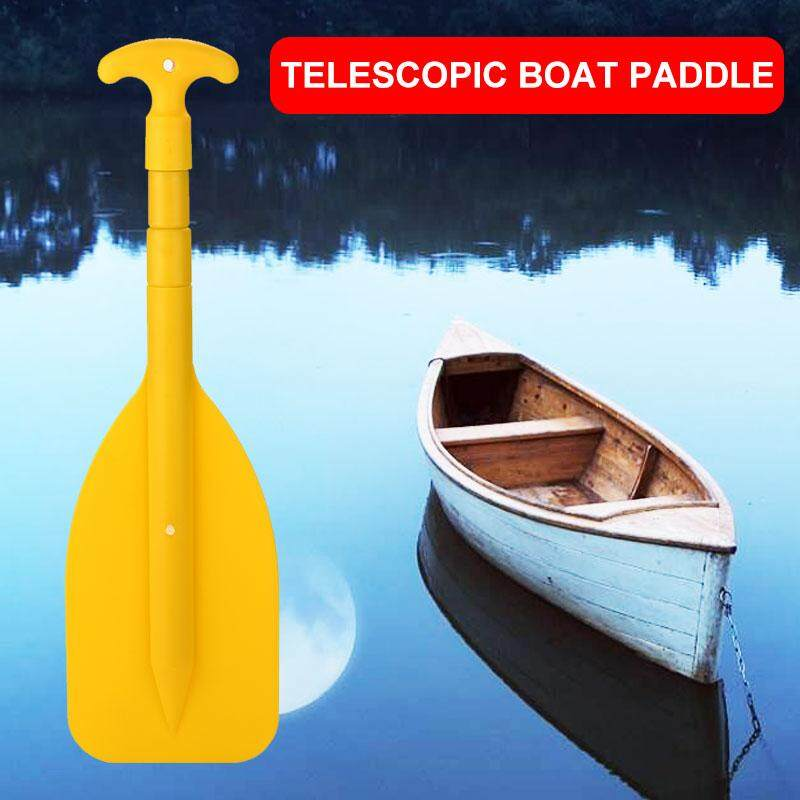 Maler Store Telescopic Paddle Portable Practical Canoe Boat Yellow By Mayler Store.