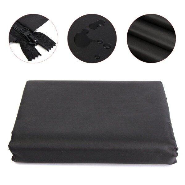 8ft Black Firewood Log Rack Polyester Covers Home Garden Patio UV Rain Protecto