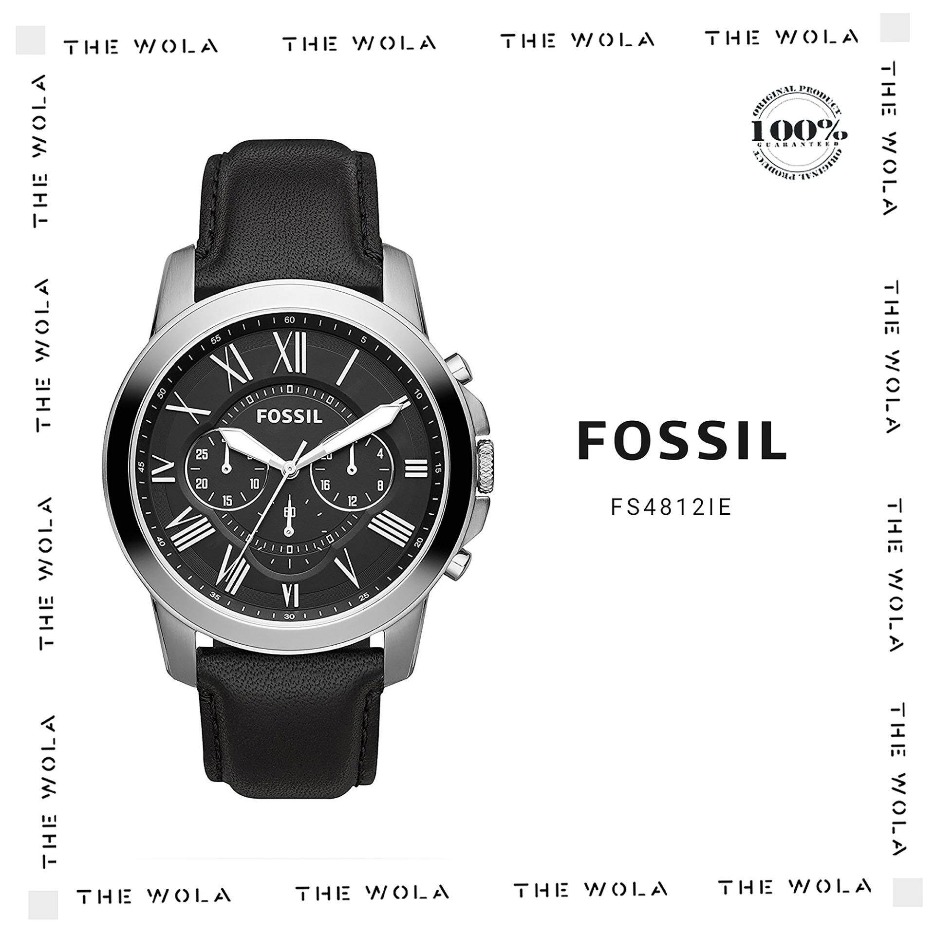 Fossil Products For Men Women The Best Price In Malaysia Fs4656 Jam Tangan Pria Original Casual Watch Fs4812ie Genuine 2 Years Warranty