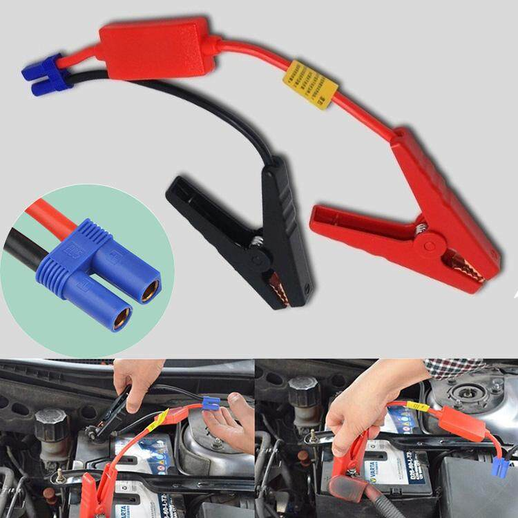 Car Battery Booster Cable (ec5 Connector) With Clamp For Car Jump Starter Power Bank By Tomi Store.