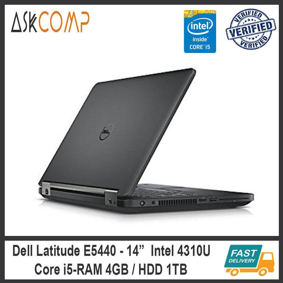 [Refurbished] Dell Latitude E5440 i5 / 2.0GHz / RAM 4GB / HDD 1TB / 6 Month Warranty Malaysia