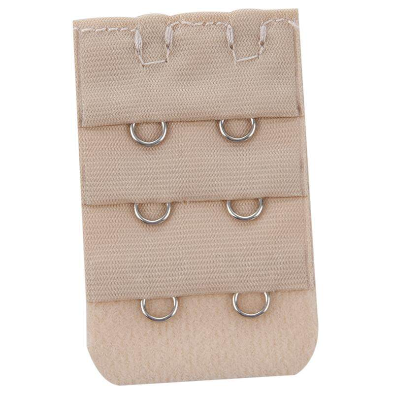 6fbdf6379d 5pcs Women 3 Rows 2 Hooks Bra Strap Extender Back Band Extension(Skin color)