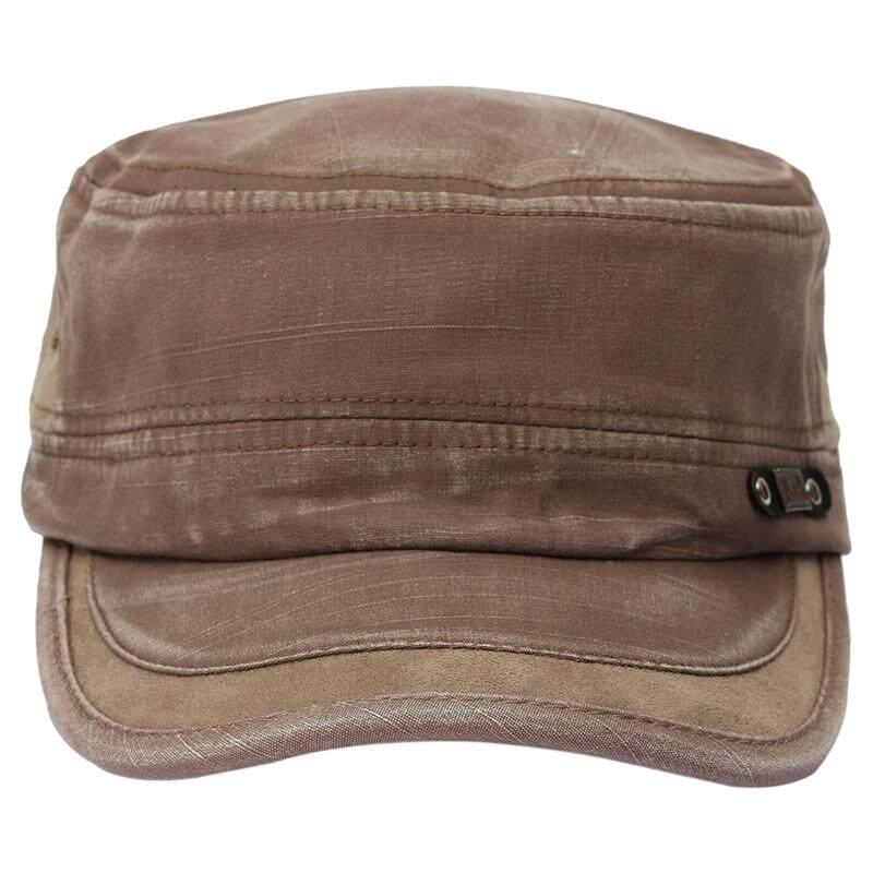 467f7b9046f Man Woman Hat Cap adjustable Casual Cap Cowboy hat Men flat-top cotton hat  adjustable