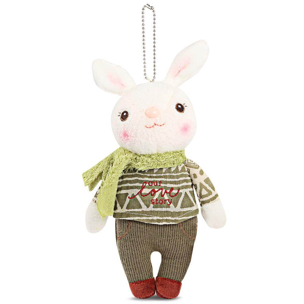 HBQCWJ Metoo Stuffed Cute Classical Rabbit Plush Doll Toy Birthday Christmas Gift