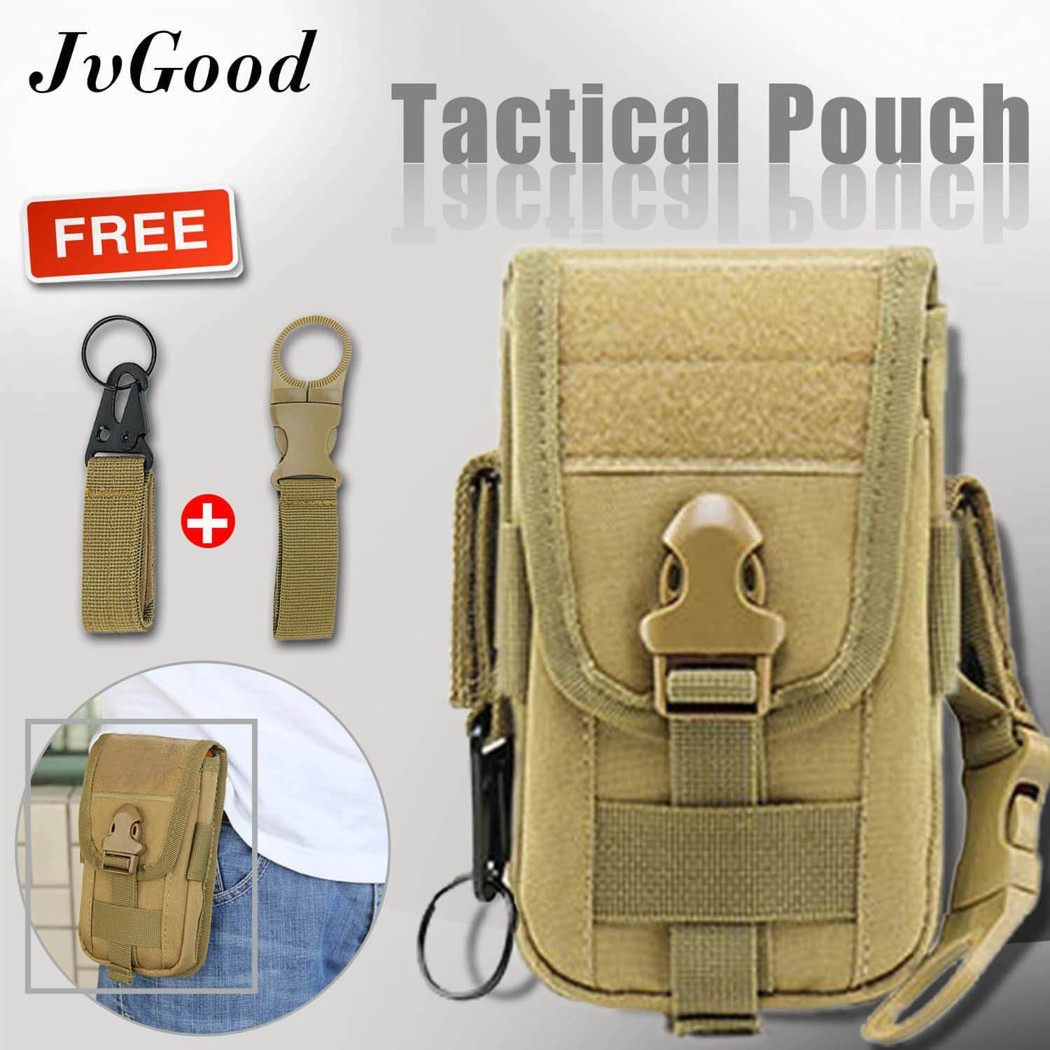 JvGood Multipurpose Tactical Molle Pouch EDC Pouch Bag Military Belt Bag Gadget Phone Case Outdoor Holster