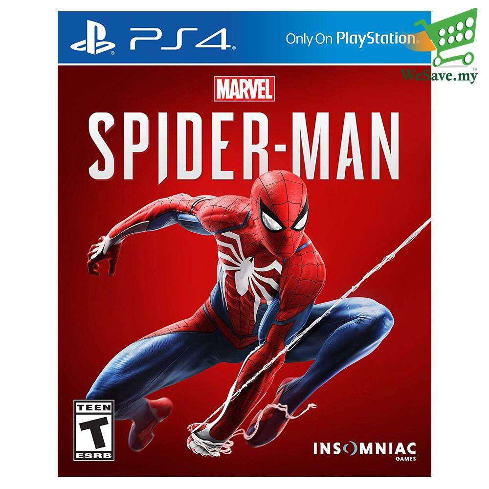 Sony Ps4 Game Marvels Spider-Man Playstation 4 (original) - R3 By Wesave.my.