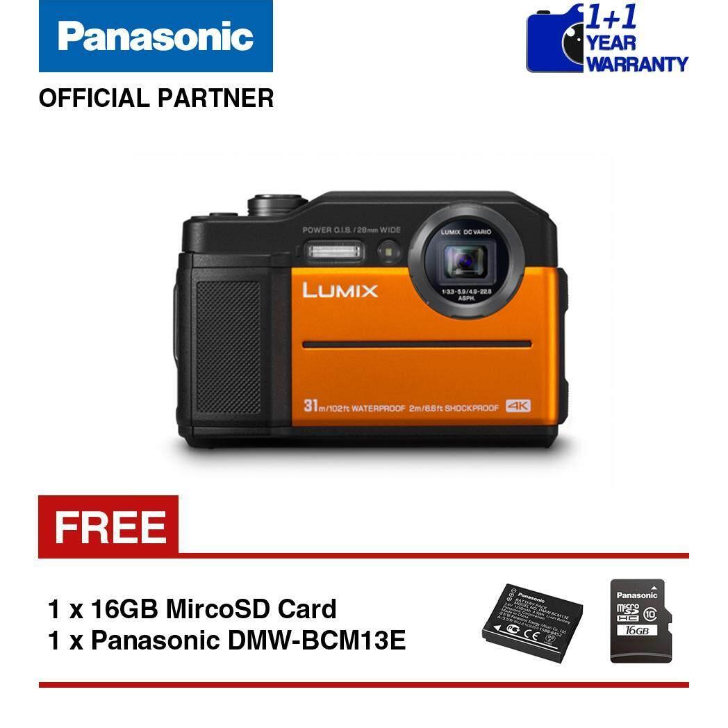 Press Release Kamera Terbaru Olympus TG 5 Makin Tahan Banting Source · Panasonic Lumix DC FT7 Waterproof Digital Camera Orange Blue Black