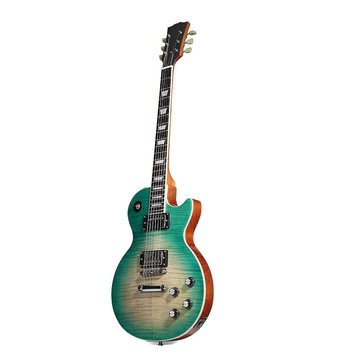 Delapan Musik Tas Gitar Elektrik Blue Daftar Harga Terlengkap Varetta Black Hitam L Starshine 1959 Lp Standard Electric Guitar Solid Mahogany Body Flamed Maple Top