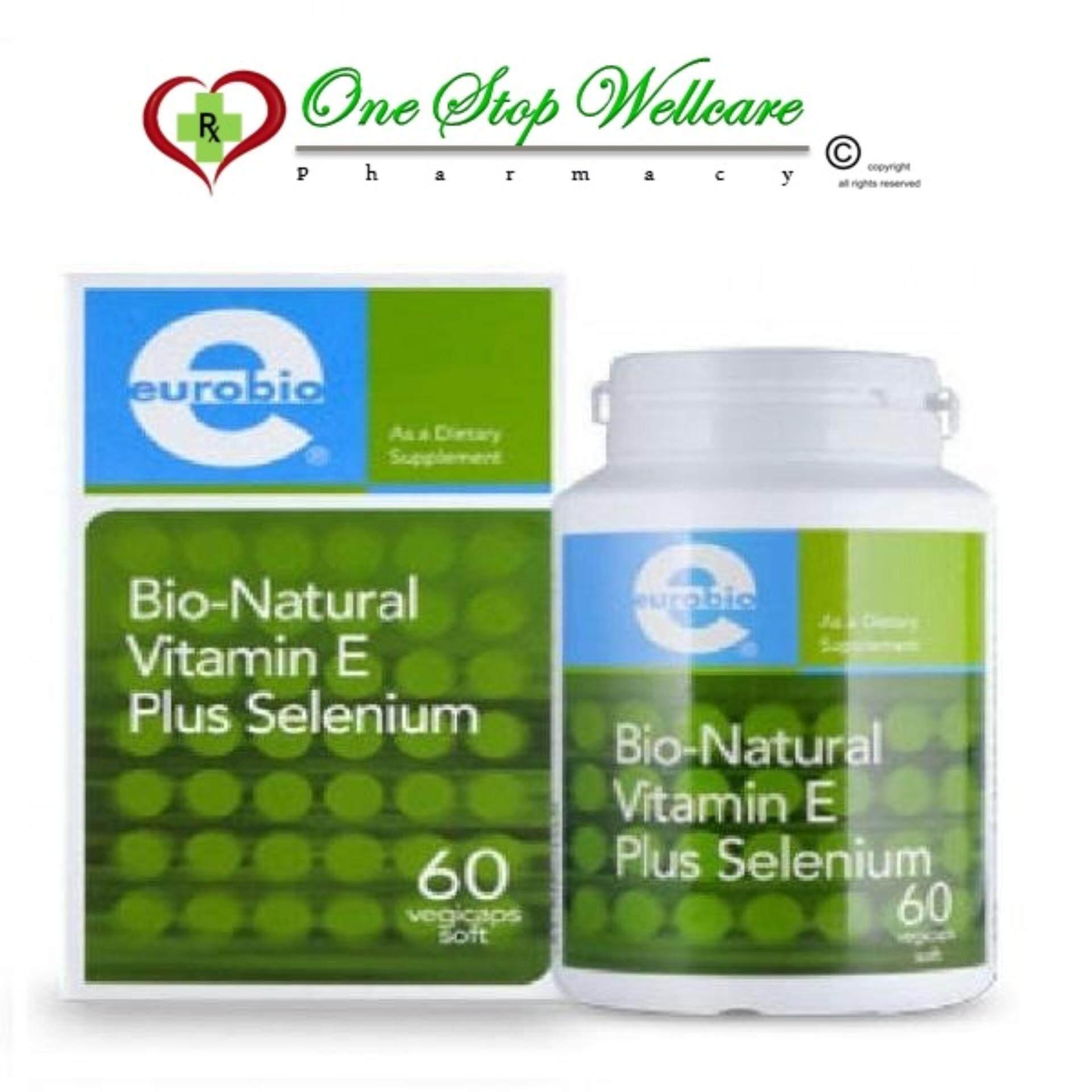 Buy Sell Cheapest Bio E Best Quality Product Deals Malaysian Store Blackmores Natural 250iu 50 Capsules Eurobio Vit Plus Selenium 60s