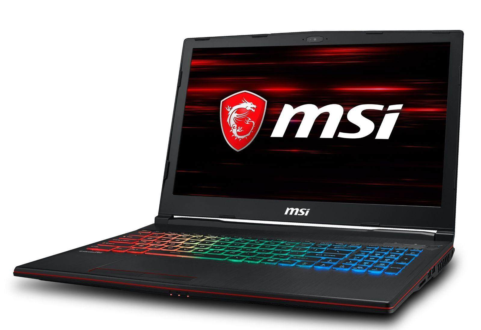MSI GP63 Leopard 15.6 120Hz (3ms) Core i7-8750H GTX 1060 1050Ti Gaming Laptop Malaysia