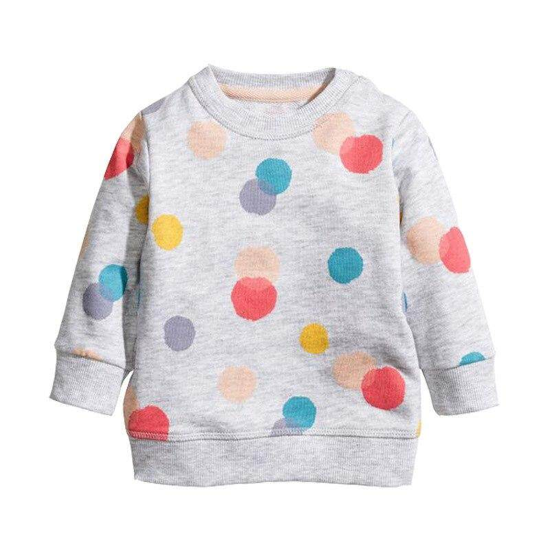 Lanbaoshi Sweatshirt Baby Girls Hoodies Kids 2018 Girl Clothes Winter Children Hoodies For Girls Sweatshirt With Animal Applique By Lanbaoshi.