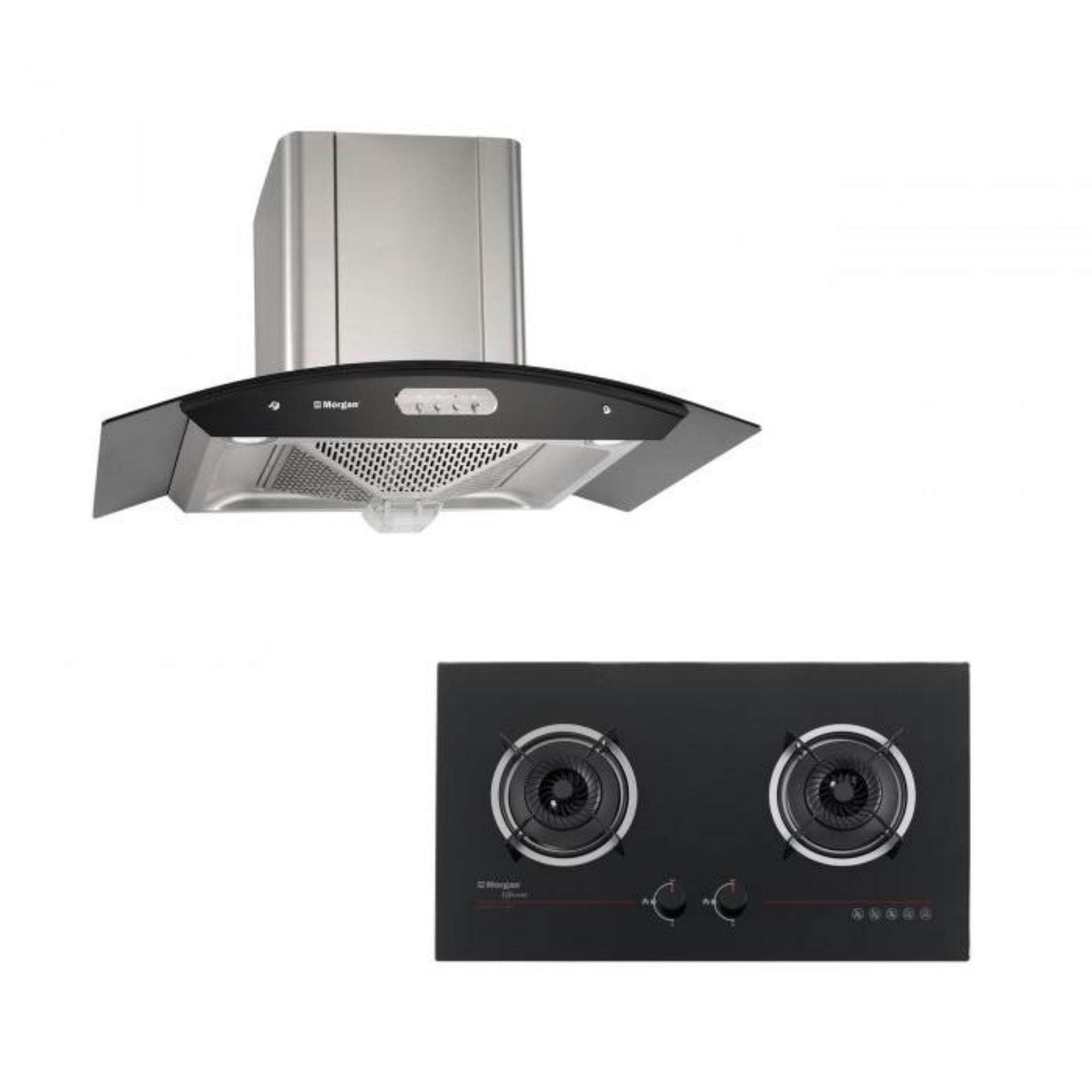 Morgan Designer Cooker Hood Mdh 920oc Built In Hob Mbh Gc1142bk