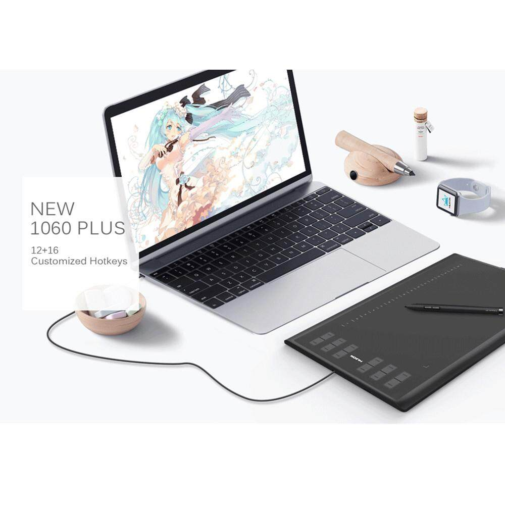 【Free Shipping + Super Deal + Limited Offer】Huion New 1060 Plus 10x6 25