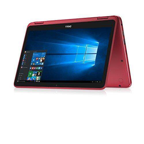 2018 Newest Dell Inspiron Business Flagship 2 in 1 Laptop PC 11.6 Touchscreen AMD A9-9420e Processor 4GB DDR4 RAM 500GB HDD Wifi HDMI Bluetooth Webcam Windows 10-Red Malaysia
