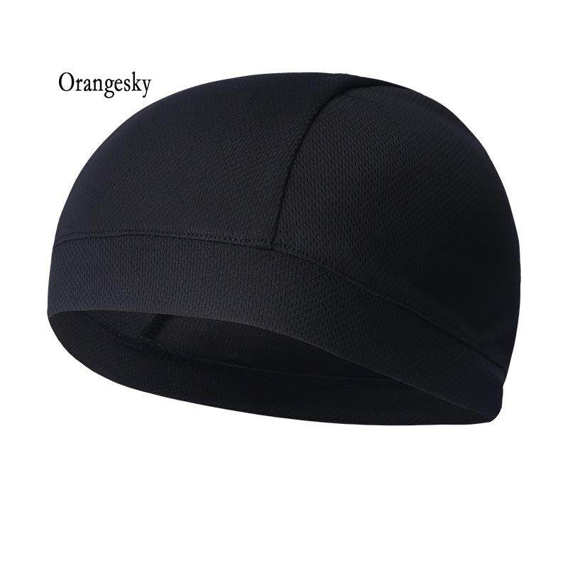 69cd8d7a Orangesky Summer Men Cap Elastic Breathable Absorb Sweat Solid Color  Headband For Outdoor Sport Cycling Running