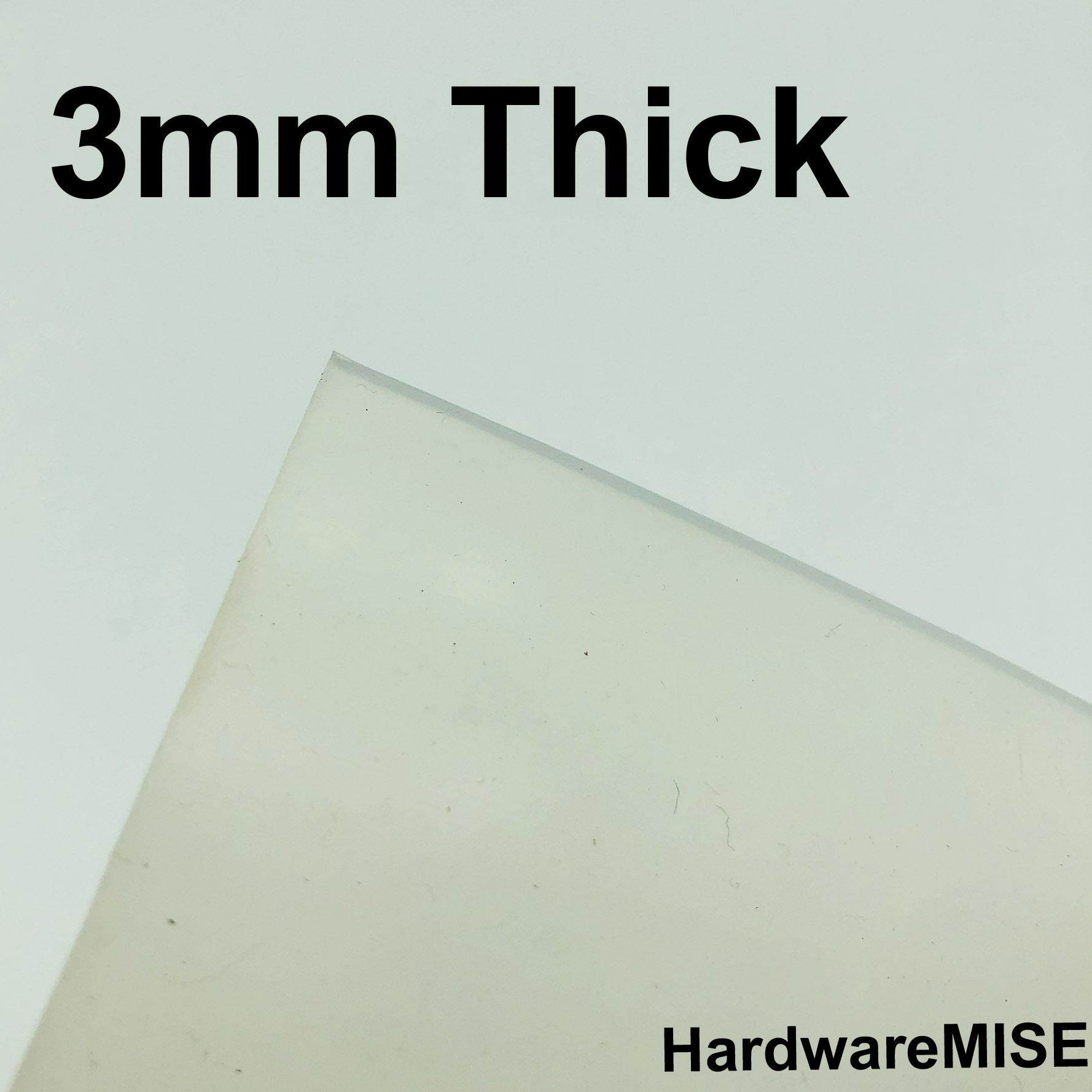 Silicone Rubber Sheet Translucent 3mm thick