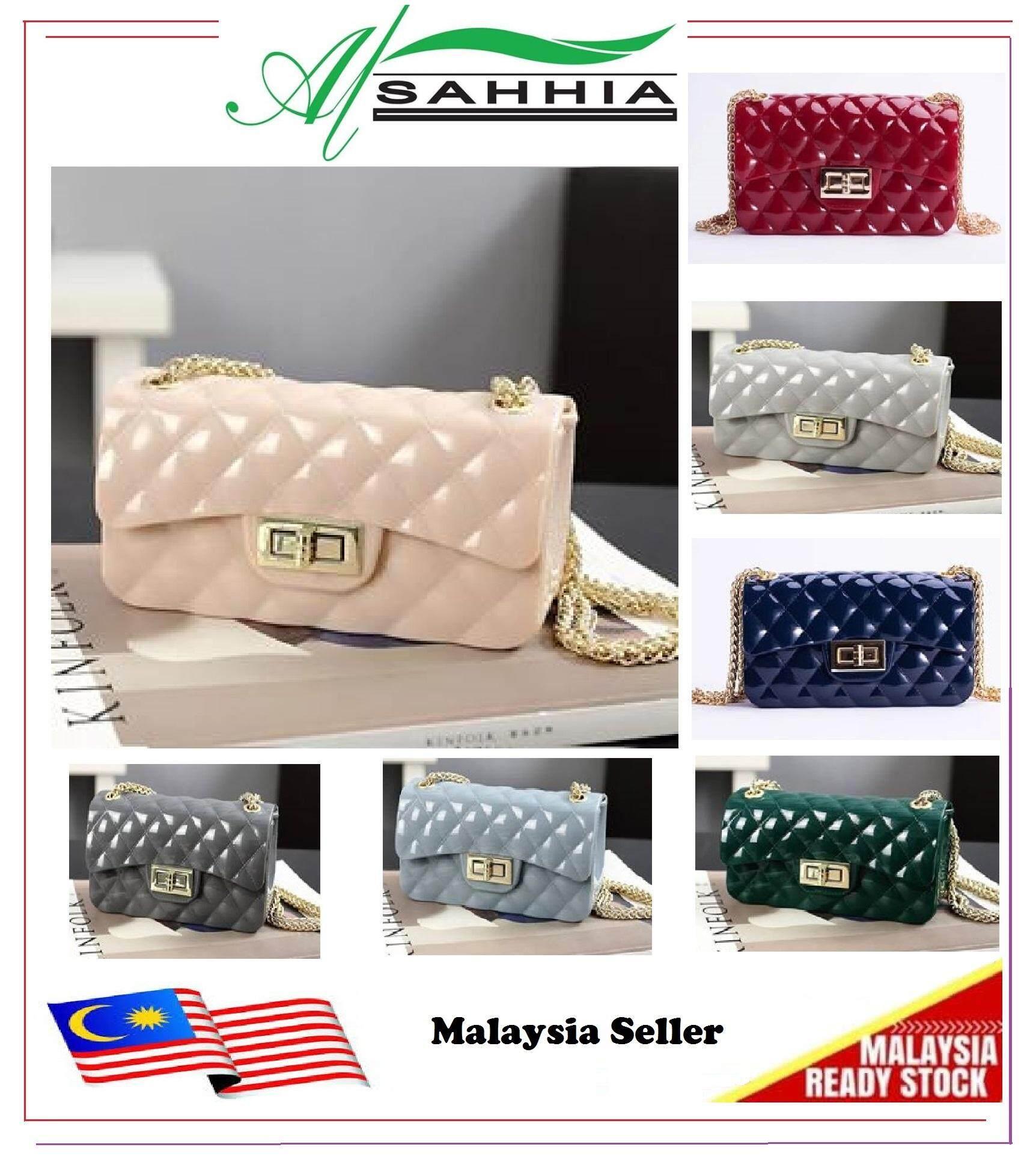 da8c7ab6a1cc Al Sahhia Ready Stock Jelly Bag Bags Sling Bag Shoulder Bag Begs Fashion Bag