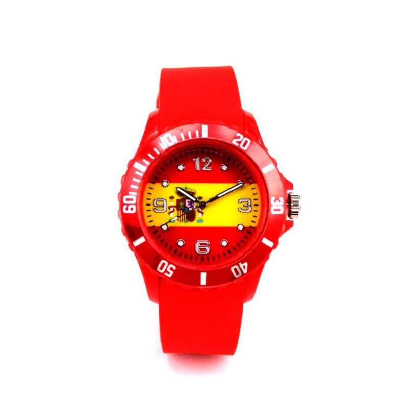 Dueplay 2018 World Cup International Football League 22 Country Representative Flag Diagram Case Fashion Watch Spain Malaysia