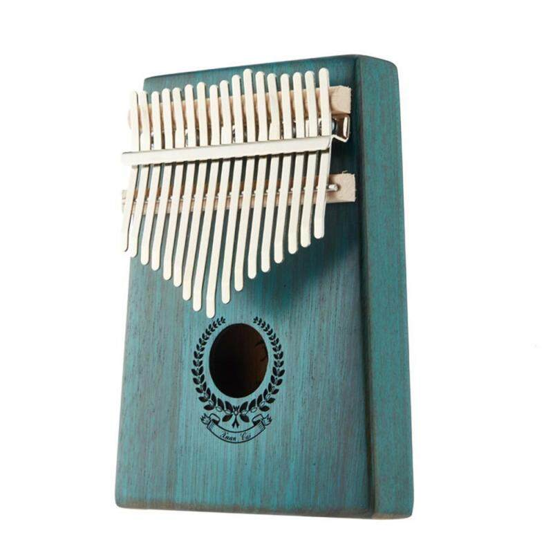 WithRitty Kalimba 17 Key Thumb Piano,Mahogany Finger Piano with Tuning Kit Hammer and Study Instruction and Simple Sheet Music Suitable for Kids Adult Beginners, Professionals Malaysia