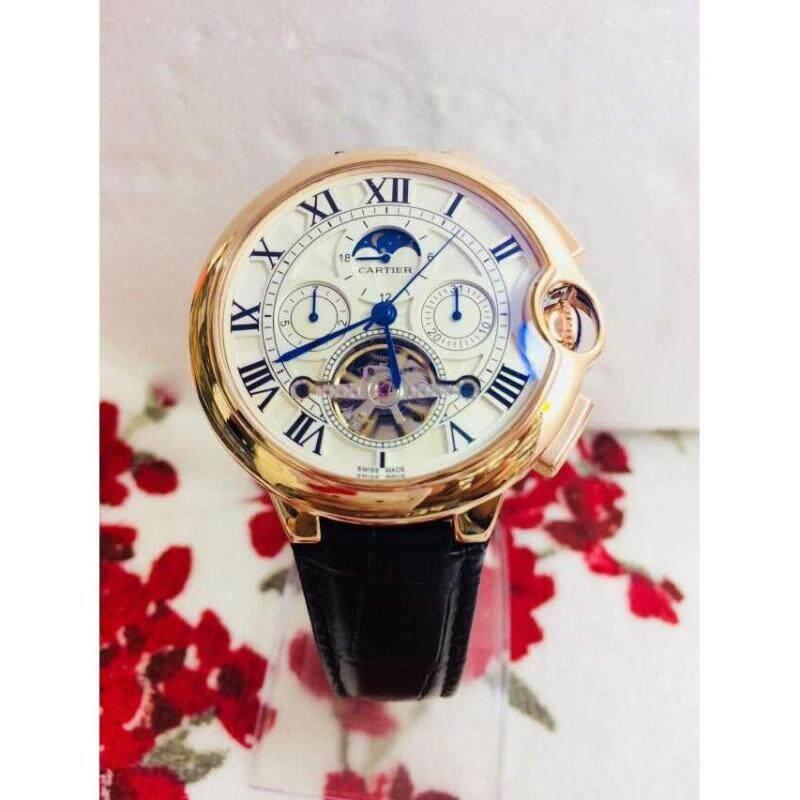 Cartier Watch For Men Gold Lug Malaysia