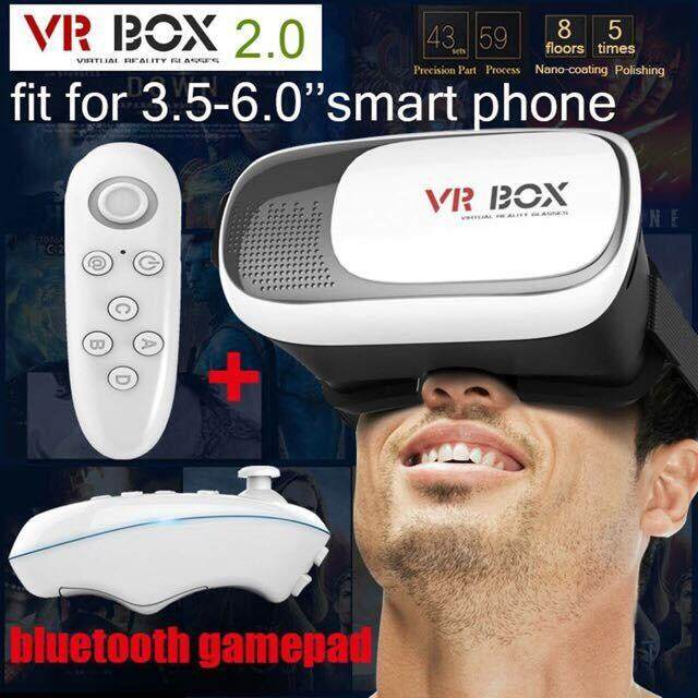 VR BOX 2 0 3D VR + BLUETOOTH REMOTE CONTROL (Best Offer)
