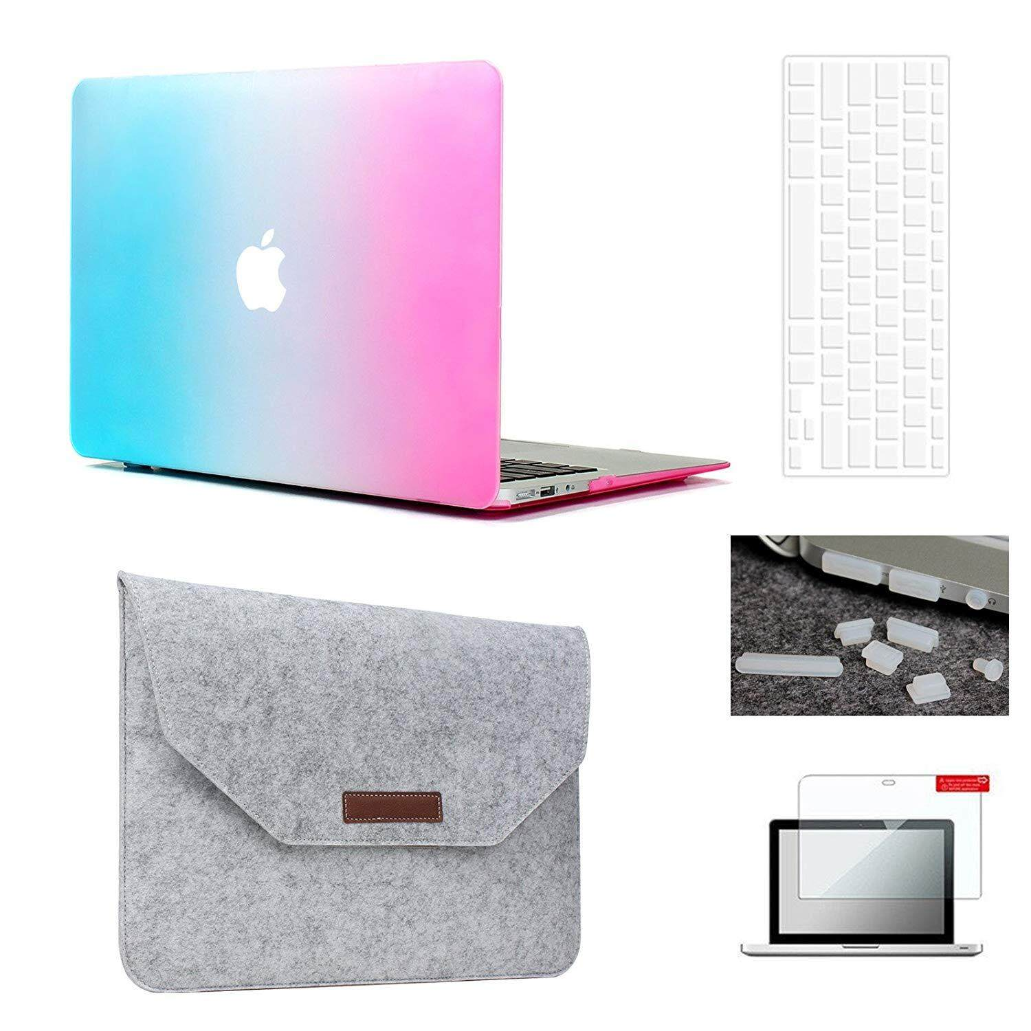 Apple Mac Hard Covers For The Best Prices In Malaysia Case Macbook Pro 13 Grey Air Sleeve5 1 Bundle Plastic Hardshell
