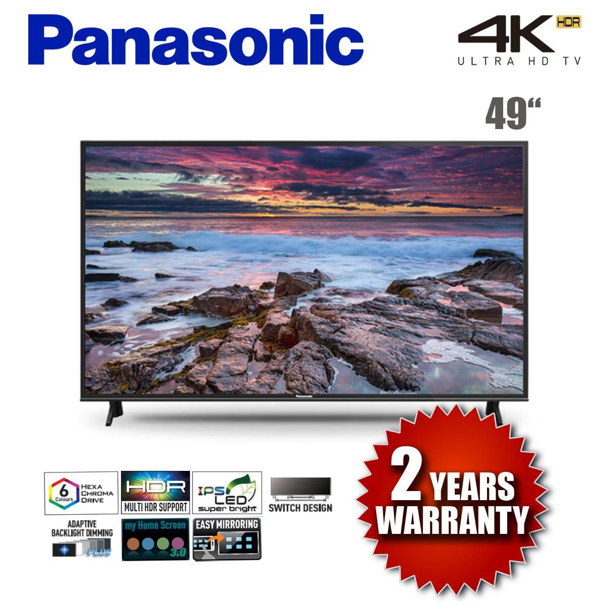 PANASONIC TH-49FX600K 4K ULTRA HD LED SMART TV 2018 MODEL