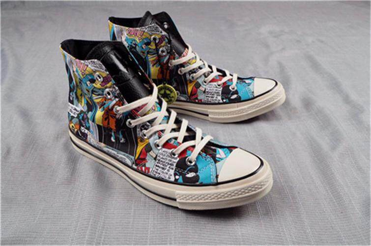 Converse Official WOMEN Skateboarding Shoes DC Comics x Chuck Taylor 1970s  High Top Global Sales ( 8ddcf9f760