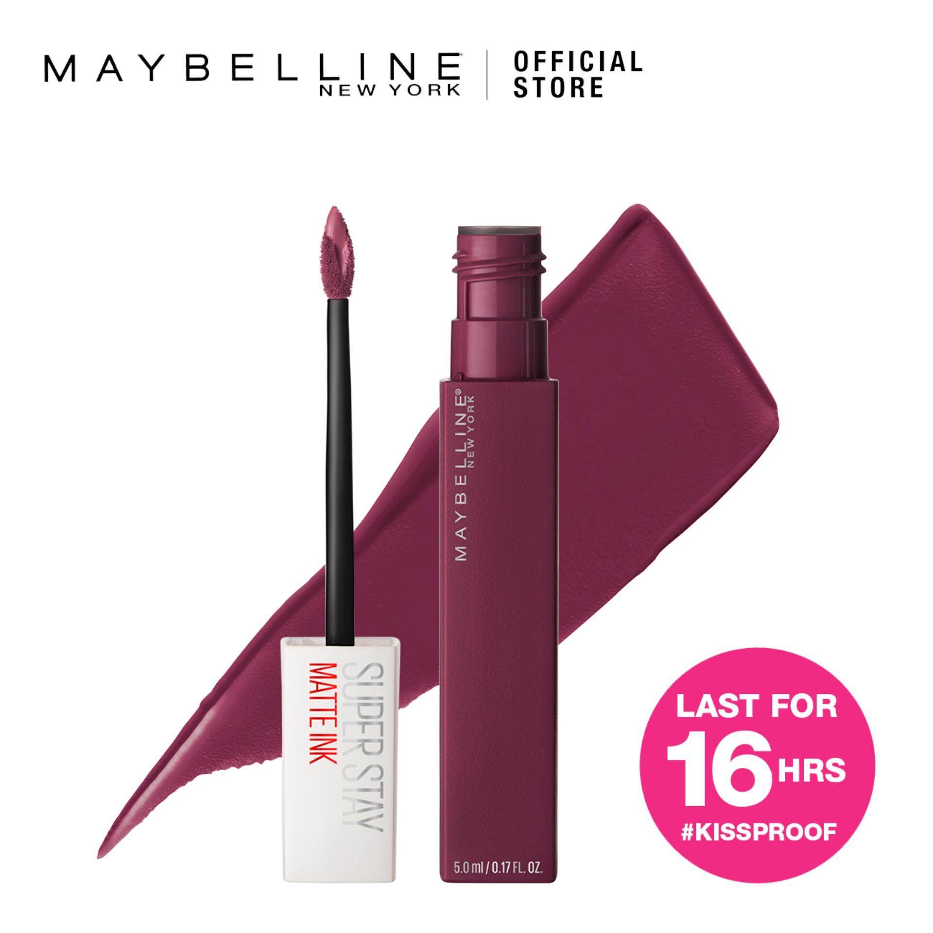 Maybelline Superstay Matte Ink Lipstick Malaysia Super Stay