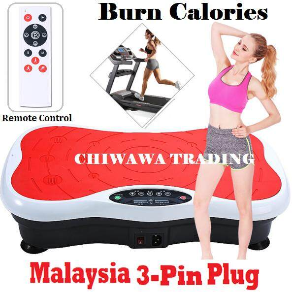 【free: Remote Controller】 Silent Plate Adjustable Speed Whole Body Vibration Ez Shaker Shaper Slimming Fitness Exercise Dancer Stepping Machine Home Sport Gym Health By Chiwawa Trading.