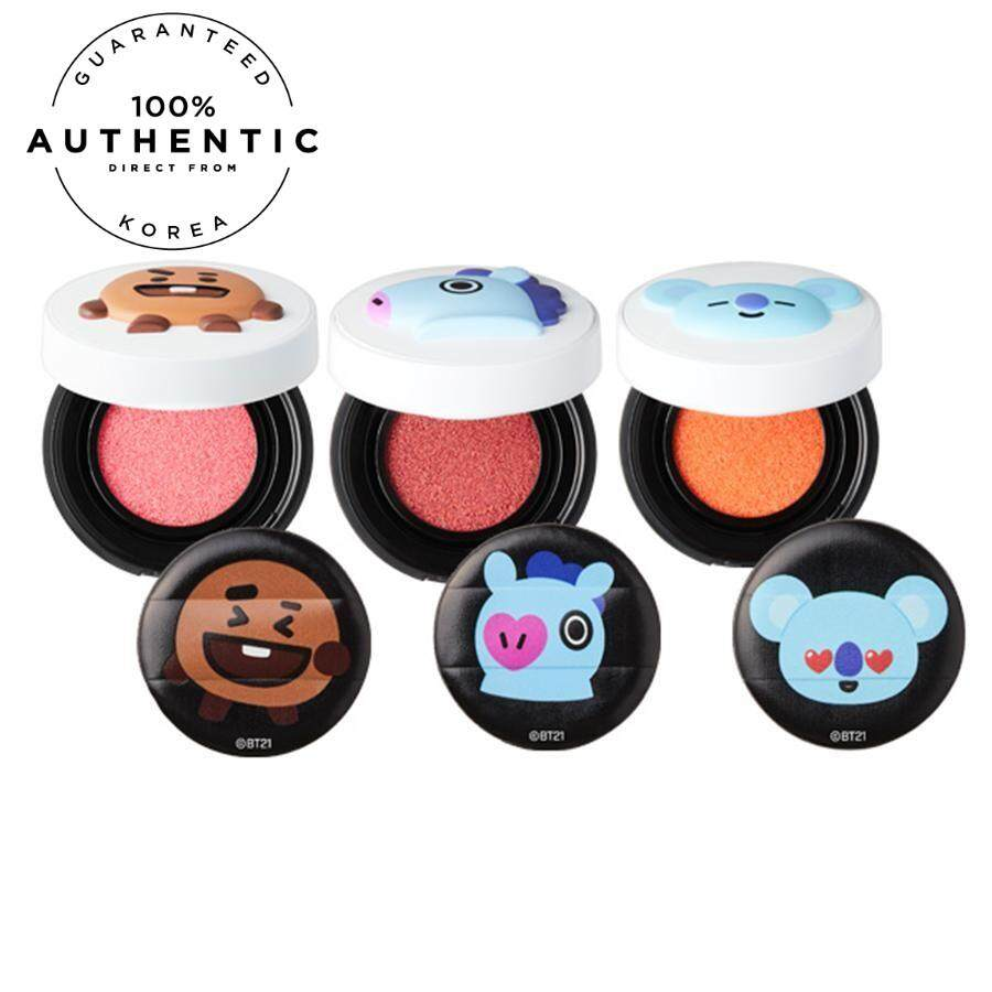 [pre-Order Eta: 15 Business Days] Bt21 X Vt - Cheek Cushion By Porter Shop.