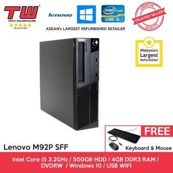 Lenovo M92P Core i5 3 20GHz / 4GB DDR3 RAM / 500GB HDD / Windows 10