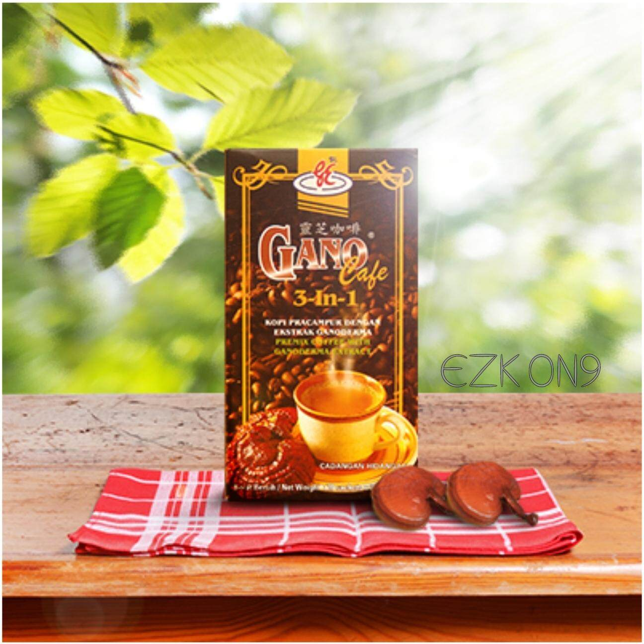Gano excel buy gano excel at best price in malaysia lazada gano cafe 3 in 1 premix coffee with ganoderma extract 20sachets x 21g reheart Choice Image