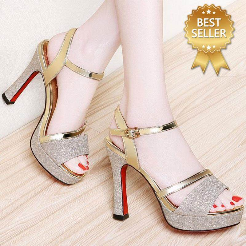 6ce3a54aa1b0 STF Fashion Women High-heeled Sandals Breathable Open Toe Fine Heel Shoes FREE  SHIPPING