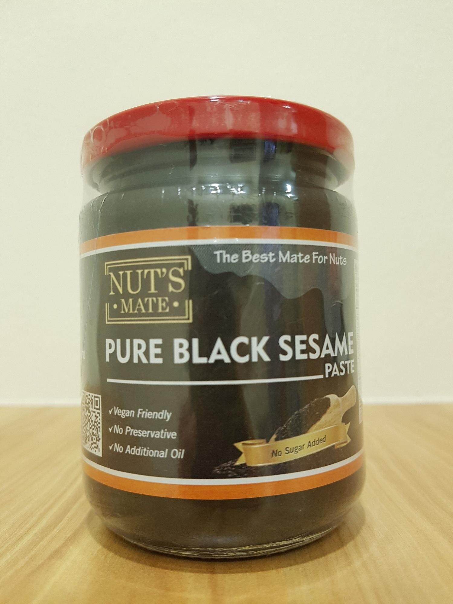 Nuts Mate Pure Black Sesame Paste By Nuts Mate.