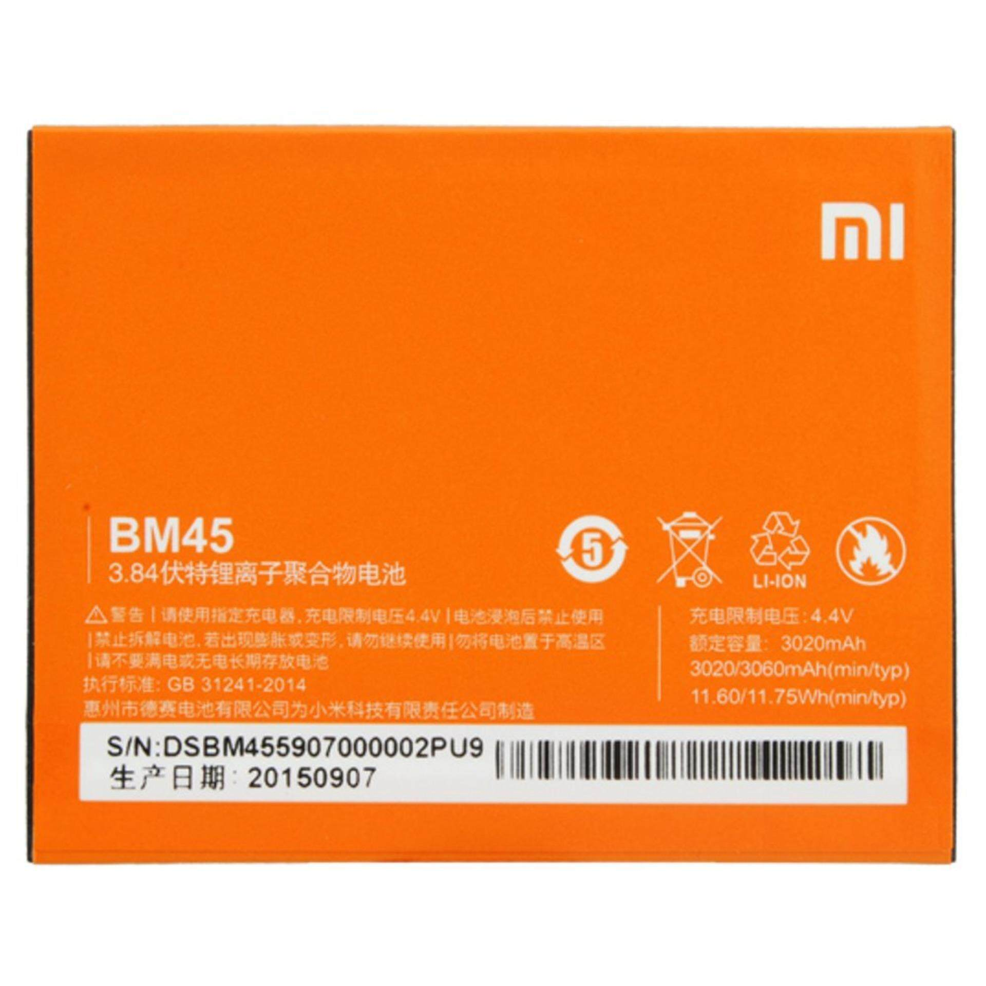 Xiaomi Phone Batteries Price In Malaysia Best Baterai Batrai Batre Battery Original Redmi4a Bn30 Redmi 4a Hong Mi Note 2 3020mah Bm45